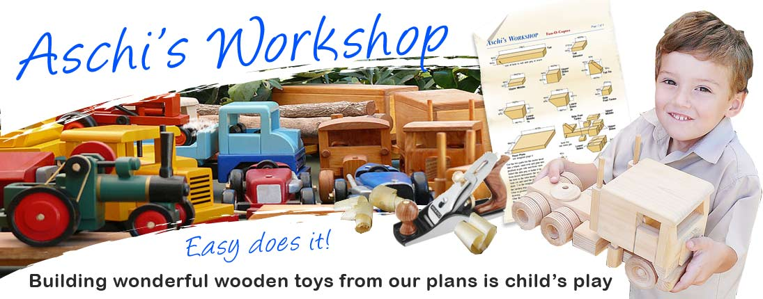 Genuine wooden toy plans by Aschisworkshop